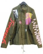 FLAGSTUFF(フラッグスタッフ)の古着「ミリタリージャケット」|グリーン