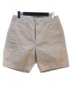 KAPTAIN SUNSHINE(キャプテン サンシャイン)の古着「ショートパンツ」|ベージュ