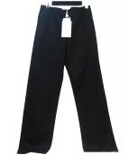 Martin Margiela4(マルタンマルジェラ4)の古着「コットンパンツ」|ブラック