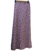 BEAUTY&YOUTH(ビューティーアンドユース)の古着「フラワープリントスカート」