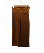IENA(イエナ)の古着「ラップスカート」 ブラウン