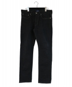 DESCENDANT(ディセンダント)の古着「ブラックデニム」|ブラック