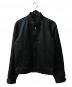 Martin Margiela14(マルタンマルジェラ14)の古着「襟リブジップブルゾン」|ブラック