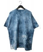 DESCENDANT(ディセンダント)の古着「タイダイTシャツ」|ブルー