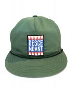 DESCENDANT(ディセンダント)の古着「キャップ」|グリーン