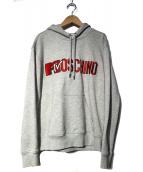 H&MOSCHINO(エイチアンドモスキーノ)の古着「プルオーバーパーカー」|グレー