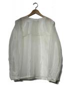 6(ROKU) BEAUTY&YOUTH(ロク ビューティアンドユース)の古着「ブラウス」|ホワイト