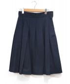 COMME des GARCONS(コムデギャルソン)の古着「スカート」|ネイビー