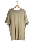Plage(プラージュ)の古着「クラシック天竺Tシャツ」|ブラウン