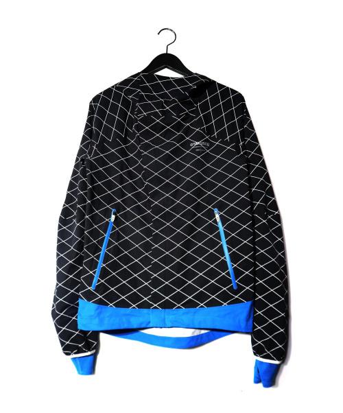 GYAKUSOU(ギャクソウ)GYAKUSOU (ギャクソウ) シールドランナージャケット ブラック×ブルー サイズ:S 参考価格37.800円 UNDERCOVER/アンダーカバーの古着・服飾アイテム