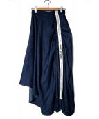 eimy istoire(エイミー イストワール)の古着「ベルトアシメントリースカート」