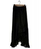 Mes Demoiselles...(メドモワゼル)の古着「スカート」|ブラック