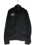 Hysteric Glamour(ヒステリックグラマー)の古着「ミリタリージャケット」|ブラック