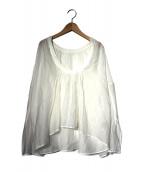 TODAYFUL(トゥデイフル)の古着「ブラウス」|ホワイト