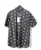 SOPHNET.(ソフネット)の古着「S/Sスターデニムシャツ」 ブラック