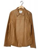 コノリコ(コノリコ)の古着「シープスキンジャケット」|ベージュ