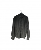 save khaki united(セーブカーキユナイテッド)の古着「コットンリネンシャツ」|ブラック