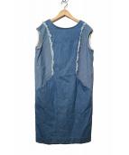 ABAHOUSE(アバハウス)の古着「デニムワンピース」|インディゴ