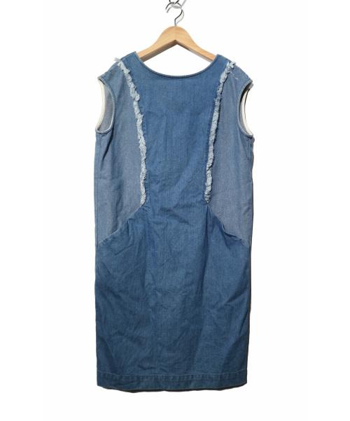 ABAHOUSE(アバハウス)ABAHOUSE (アバハウス) デニムワンピース インディゴ サイズ:FREEの古着・服飾アイテム
