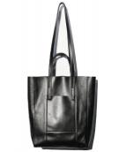 GIANNI CHIARINI(ジャンニ キャリーニ)の古着「トートバッグ」 ブラック