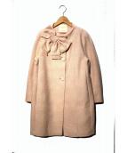 Kate Spade(ケイトスペード)の古着「ツイードドロシーコート」|ピンク
