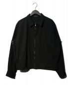 agnes b homme(アニエスベーオム)の古着「ジップジャケット」|ブラック