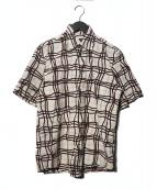 BURBERRY BLACK LABEL(バーバリーブラックレーベル)の古着「半袖シャツ」|ベージュ