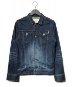 FACTOTUM(ファクトタム)の古着「デニムジャケット」|インディゴ