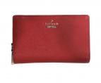 Kate Spade(ケイトスペード)の古着「折りたたみ財布」|レッド