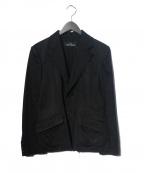 tricot COMME des GARCONS(トリココムデギャルソン)の古着「テーラードジャケット」 ブラック