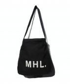 MHL(エムエイチエル)の古着「キャンバスショルダーバッグ」|ブラック