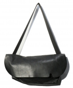 Uni&co(ユニアンドコー)の古着「メッセンジャーバッグ」|ブラック