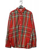Engineered Garments(エンジニアードガーメンツ)の古着「チェックシャツ」|レッド