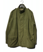 keisuke kanda(ケイスケカンダ)の古着「リメイクジャケット」|オリーブ