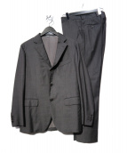 EDIFICE(エディフィス)の古着「セットアップ 3Bスーツ」|チャコールグレー
