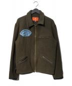 AVIREX(アビレックス)の古着「ウールジャケット」|オリーブ