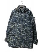 US NAVY(ユーエスネイビー)の古着「デジカモマウンテンジャケット」|ネイビー
