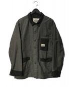 PHERROWS(フェローズ)の古着「カバーオール」|グレー