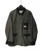 PHERROWS(フェローズ)の古着「カバーオール ジャケット」|グレー