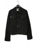 tramarossa(トラマロッサ)の古着「デニムジャケット」|ブラック