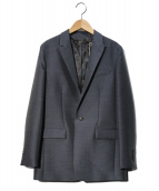 STUNNING LURE(スタニングルアー)の古着「シルクウールテーラードジャケット」|ネイビー