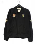 RUDE GALLERY(ルードギャラリ)の古着「音JUMPER ジャケット」|ブラック