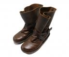 Trippen(トリッペン)の古着「ハーフブーツ ブーツ」|ブラウン