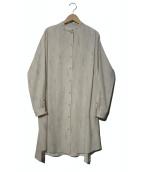 CLANE(クラネ)の古着「TINT EBRU SHIRT」|グレー