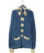 RRL(ダブルアールエル)の古着「インディゴ ショールカーディガン」|ブルー
