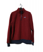 Patagonia(パタゴニア)の古着「Woolyester Fleece Pullover    」|ボルドー