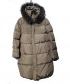 LA MARINE FRANCAISE(マリンフランセーズ)の古着「3WAYミドル丈 ダウンコート」|グレー