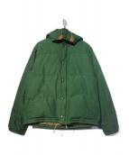 SIERRA DESIGNS(シェラデザインズ)の古着「ダウンジャケット」|グリーン