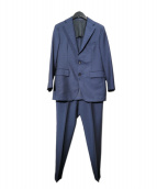 TAGLIATORE(タリアトーレ)の古着「VESVIO 2B1プリーツスーツ」|ネイビー