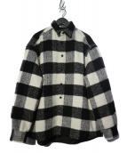 WHITELAND BLACKBURN(ホワイトランドブラックバーン)の古着「中綿キルトジャケット」|ブラック